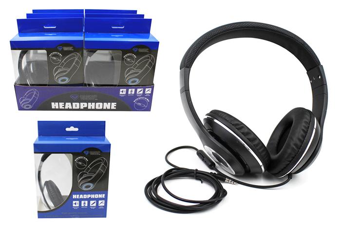 Over-Ear HEADPHONES w/ Built-In Mic