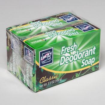 BAR SOAPS 2PK X 3.5 OZ BARS CLASSIC FRESH DEODORANT #2621