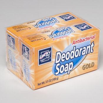 BAR SOAP 2PK X 3.5 OZ BARS GOLD ANTI BACTERIAL DEODORANT #2623
