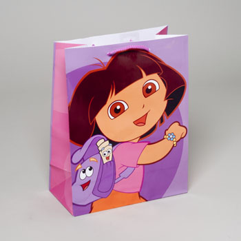 GIFT BAG DORA THE EXPLORER LARGE 13X10X5 #4717641
