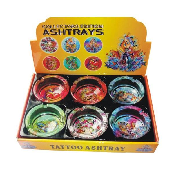 Ashtray Glass TATTOO #79015