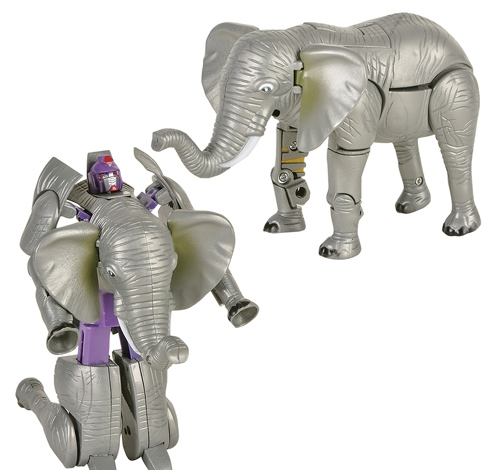 ''5'''' ELEPHANT ROBOT ACTION FIGURE''