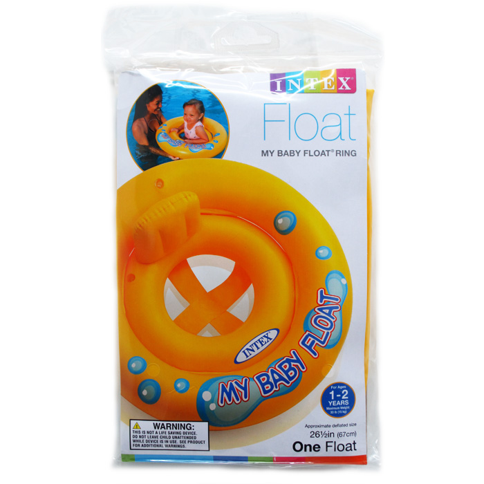 ''26.5'''' MY BABY FLOAT IN PEGABLE POLY BAG, AGE 1-2''