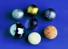 ''Pendulum Balls Set/7, 3/4'''' (19MM), Drilled''