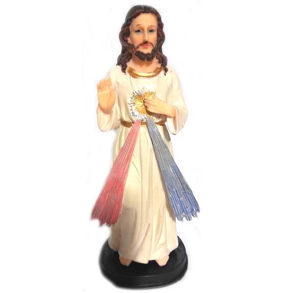 Jesus FIGURINE Polyresin 8.5in #BI-73912-24