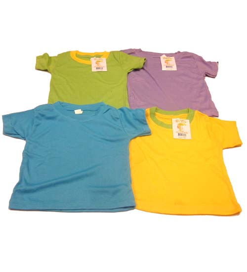 Infant T SHIRT Asst Colors #DEDT-56564-24