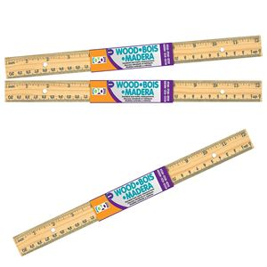 HOME OFFICE 1-CT WOODEN RULER