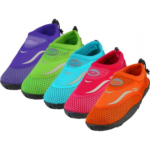 ''Girl's ''''Wave'''' Water SHOES ( Asst. 5 Color )''