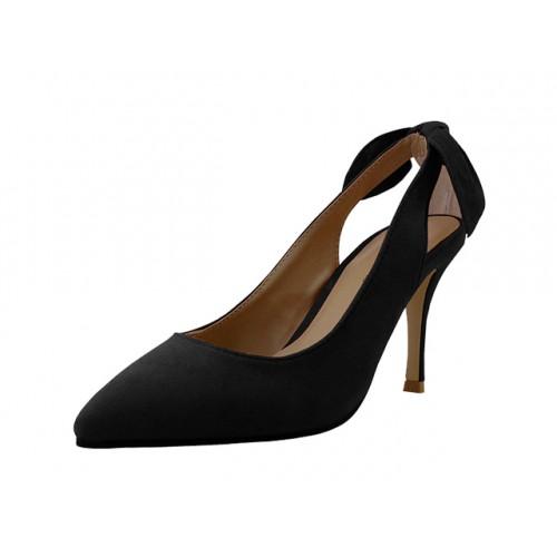 ''Women's ''''Angeles SHOES'''' High Heel Pump SHOE ( Black Color )''