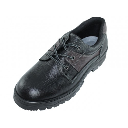 ''Men's ''''Himalayans'''' Ankle Height Insulated Leather Upper SHOES ( Black Color )''