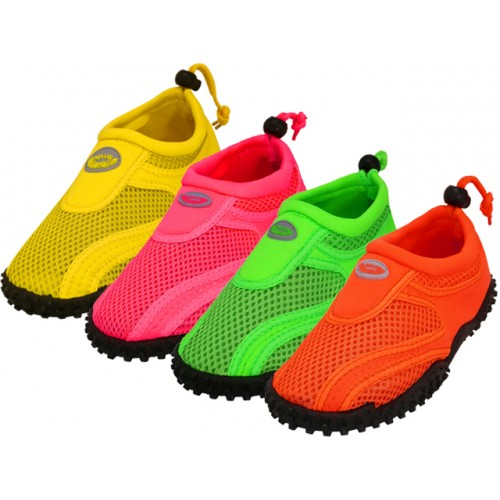 ''Toddler ''''Wave'''' Water SHOES ( Asst. Neon Color )''