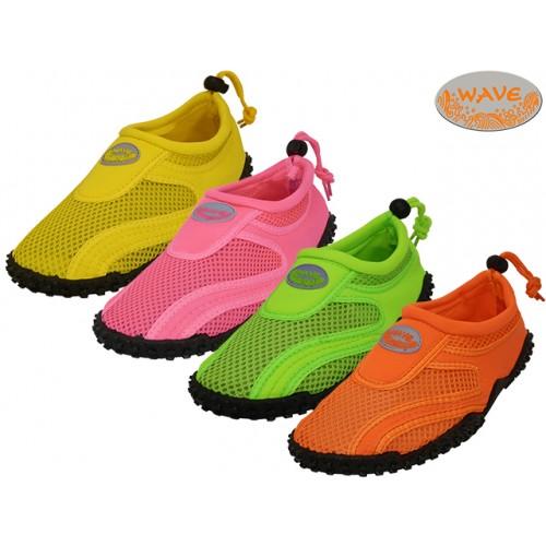 ''Women's ''''Wave'''' Water SHOES ( Asst. Neon Fuchia. Orange. Green And Yellow )''