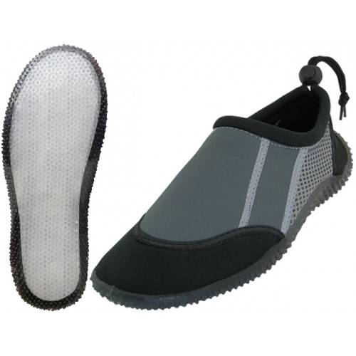 Women's Super Soft None Marking Clear Outsole Water SHOES ( Black/Gray Color )