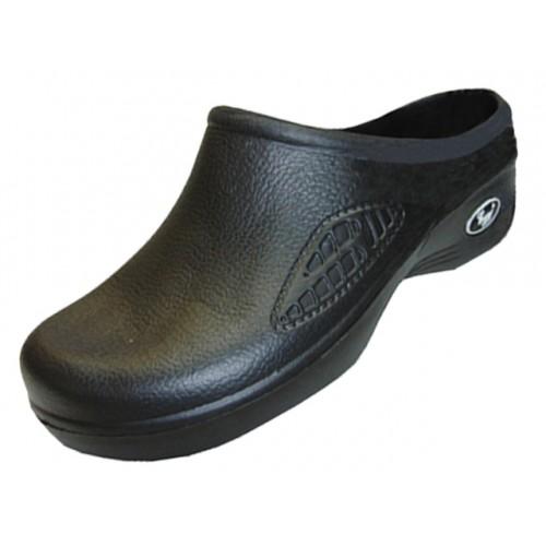 Women's Close Toe Rubber Nursing SHOES ( Black Color )