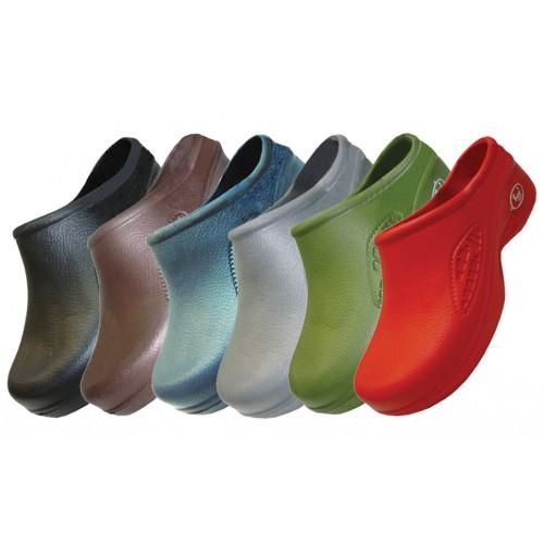 Women's Close Toe Rubber Nursing SHOES ( Asst. Dark Color)