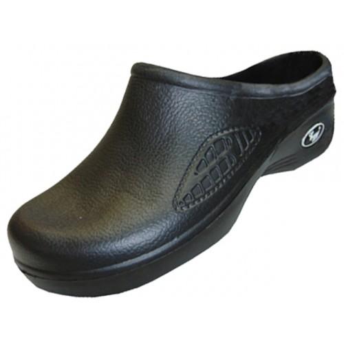 Men's Close Toe Rubber Nursing SHOES ( Black Color )