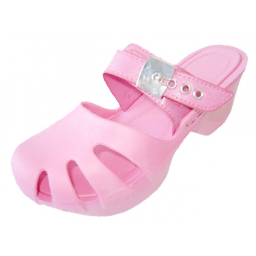 Girl's Wedge CLOG Sandals ( Pink Color )