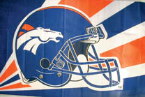 NFL FOOTBALL FLAGS 3' X 5' FLAG (Sold by the piece) #FL277