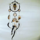 WOLF WITH COW SKULL DREAM CATCHER (Sold by the piece) #GI098