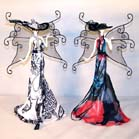 BUTTERFLY LADY DRESS JEWELRY RACK (Sold by the piece) #GI351