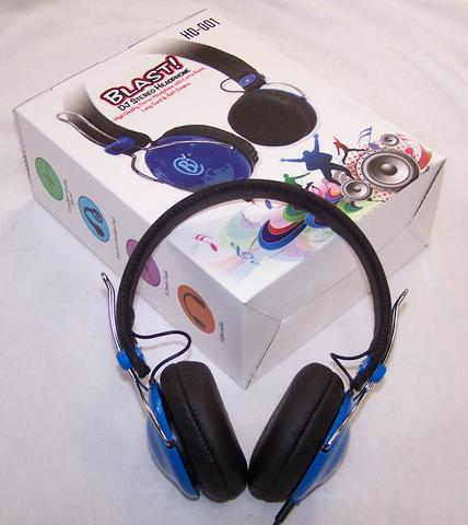 BLAST DJ STEREO HEADPHONE EAR PHONES HEAD SET #GI514