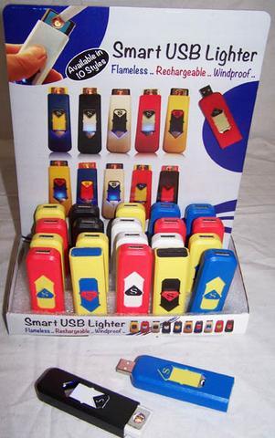 USB CHARGBLE FLAMELESS LIGHTER #GI519