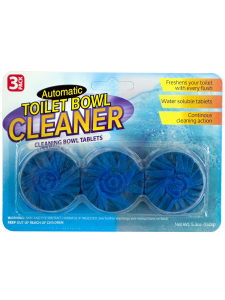 Automatic Toilet Bowl Cleaning Tablets