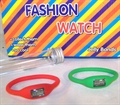 JELLY BAND DIGITAL WATCH (Sold by the dozen)- CLOSEOUT NOW ONLY 25 CENTS EA #JL476