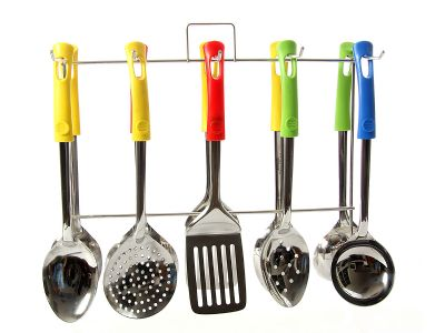 This Is A Set Of 5 Kitchen TOOLS (in 4 Colors)