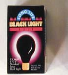 BLACK LIGHT BULBS 75 watts #LI025