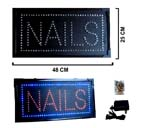 LED NAILS SIGN (Sold by the piece) #LI073