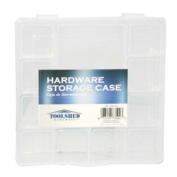 TOOLShed Storage Case 12 Slots 181g #MS-73502-36