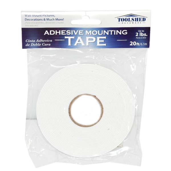 TOOLShed Adhesive Maunting Tape 20ft #NI-73792-72