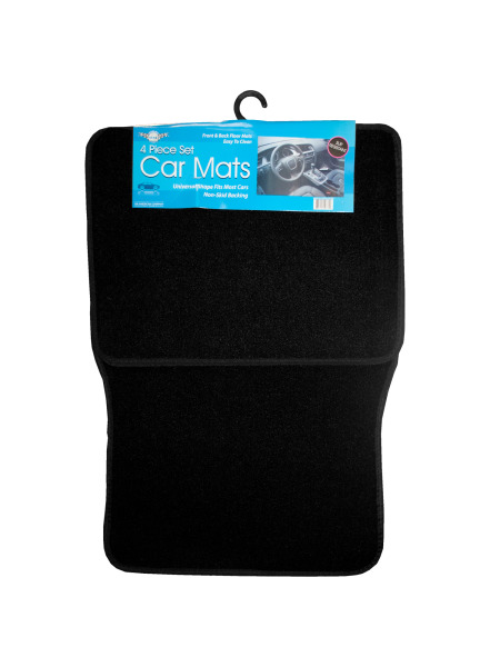 Universal Black Car Mat Set