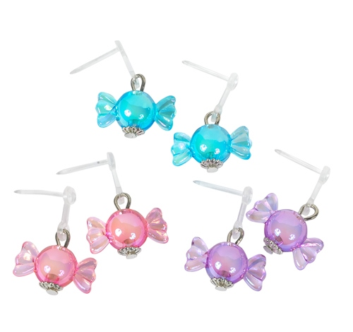 ACRYLIC CANDY DANGLE EARRINGS