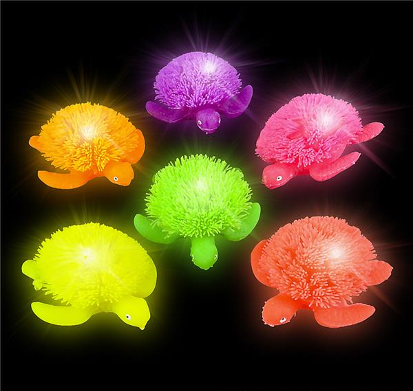 3 5 Quot Light Up Puffer Turtle