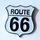 HWY ROUTE 66 HAT / JACKET PIN (Sold by the dozen) #PIN190