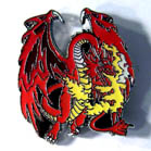 RED DRAGON HAT / JACKET PIN (Sold by the dozen) #PIN363