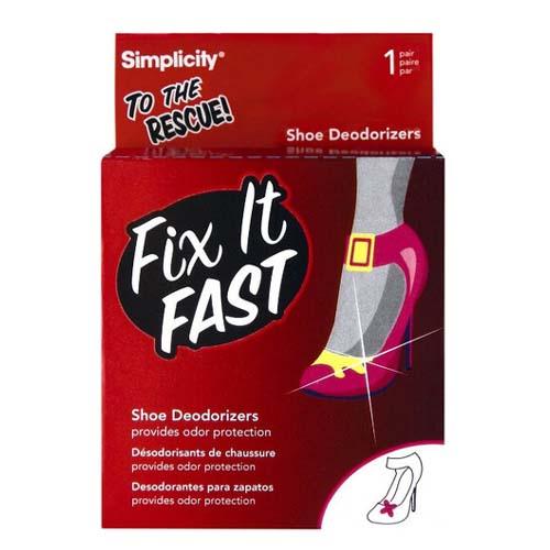 Fix It Fast SHOE Deodorizer 1 Pair #Q881923