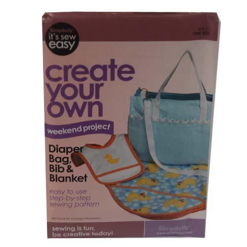 ''Create Your Own Diaper Bag, BLANKET, Bib #Q9032838''