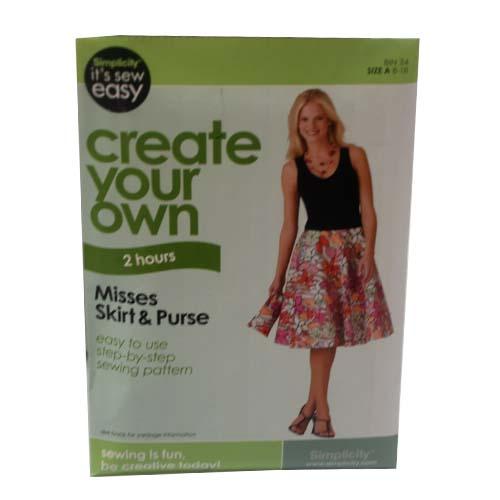 Create Your Own Skirt & PURSE #Q9032906