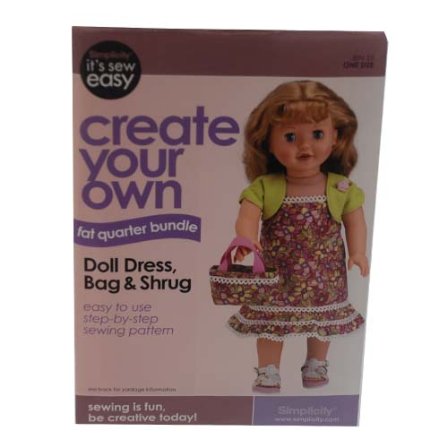 ''Create Your Own Doll DRESS, Bag #Q9033936''