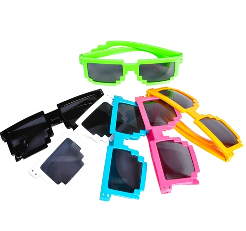 ASSORTED PIXEL SUNGLASSES