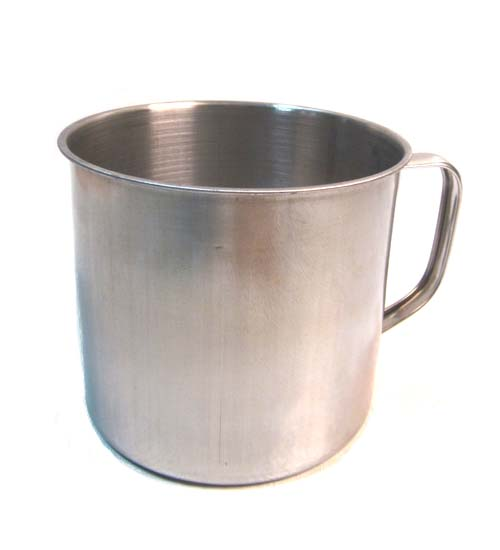 Stainless Steel Cup 12cm #SS3118