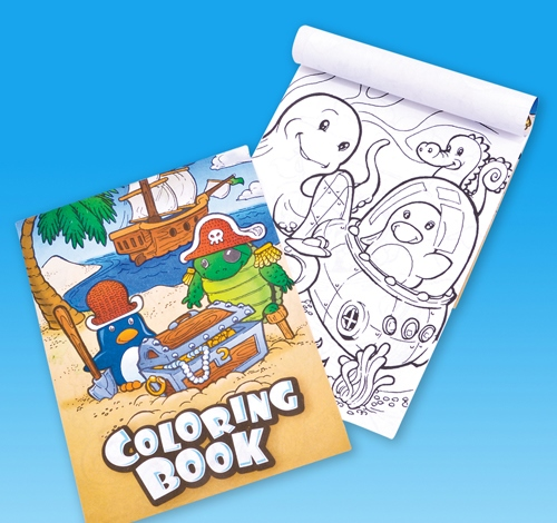 ''5'''' x 7'''' COLORING BOOK''