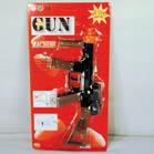 METAL DIE CAST MACHINE GUN 8 SHOT CAP GUN (Sold by the piece) #TY136