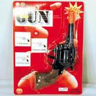 METAL DIE CAST REVOLVER 8 SHOT CAP GUN (Sold by the dozen) #TY137