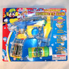 SEE THRU TRANSPARENT BUBBLE GUN (Sold by the dozen) #TY286