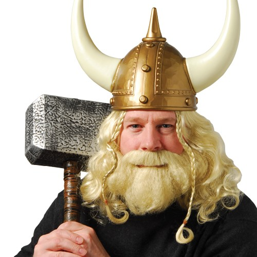 VIKING WIG & BEARD SET #CM14