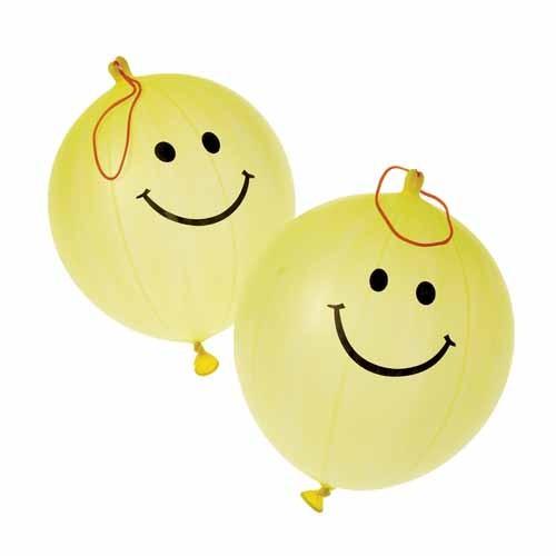 SMILE FACE PUNCH BALLS #GS707